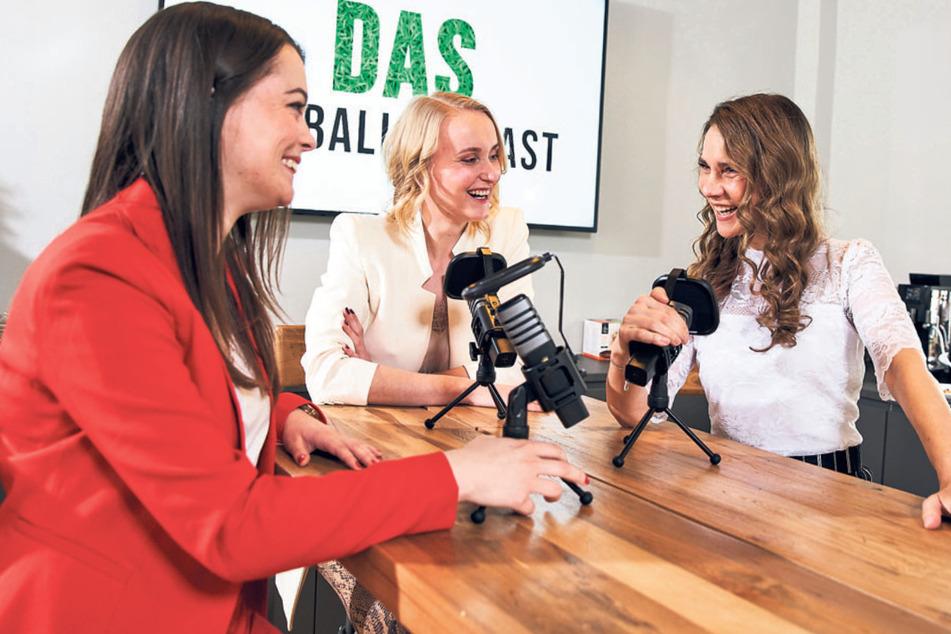 Dresden: Aus dem Stand! Fußballdamen kicken sich in die Charts