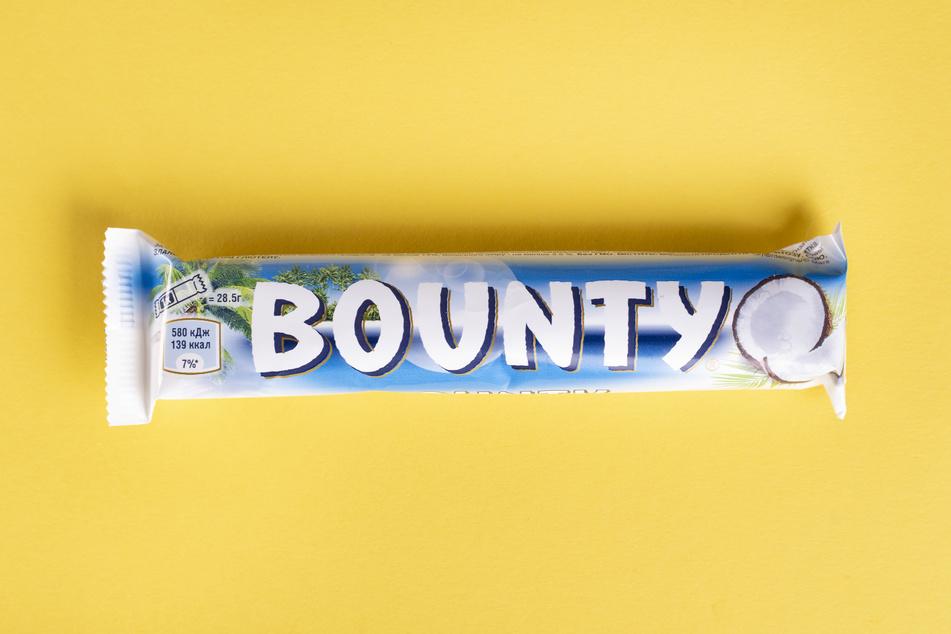 Der Grund für die versaute Weihnachtsstimmung: der Bounty-Riegel!