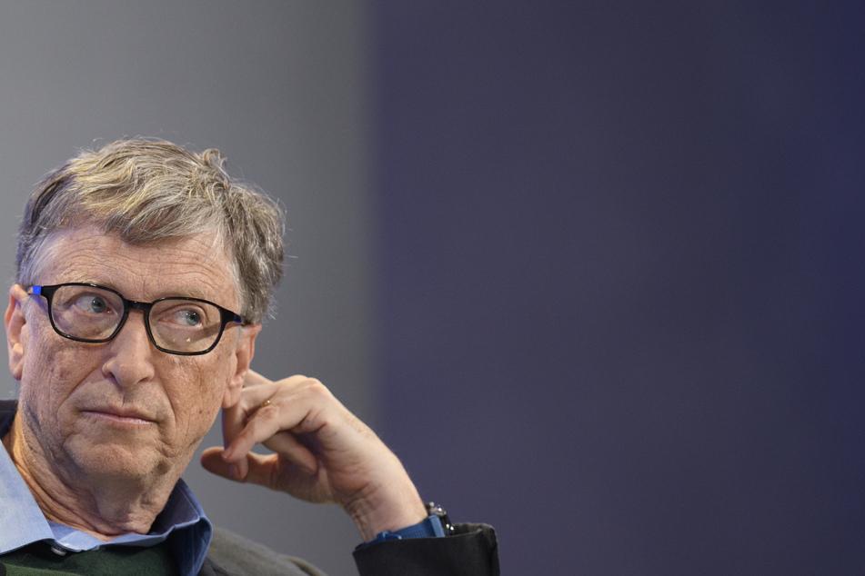 Microsoft-Gründer Bill Gates bei der Tagung des Weltwirtschaftsforums (WEF).