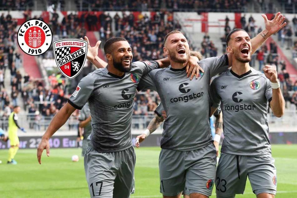 FC St. Pauli mit Köpfchen! Kiezkicker schießen den FC Ingolstadt ab