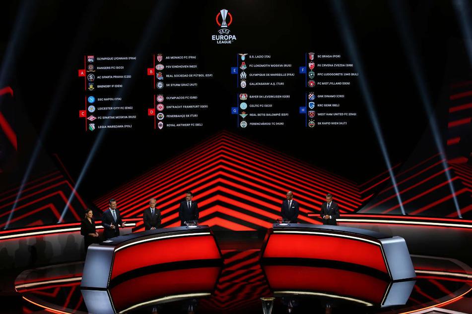 In Istanbul wurde am 27. September die Gruppen für die Europa League ausgelost.