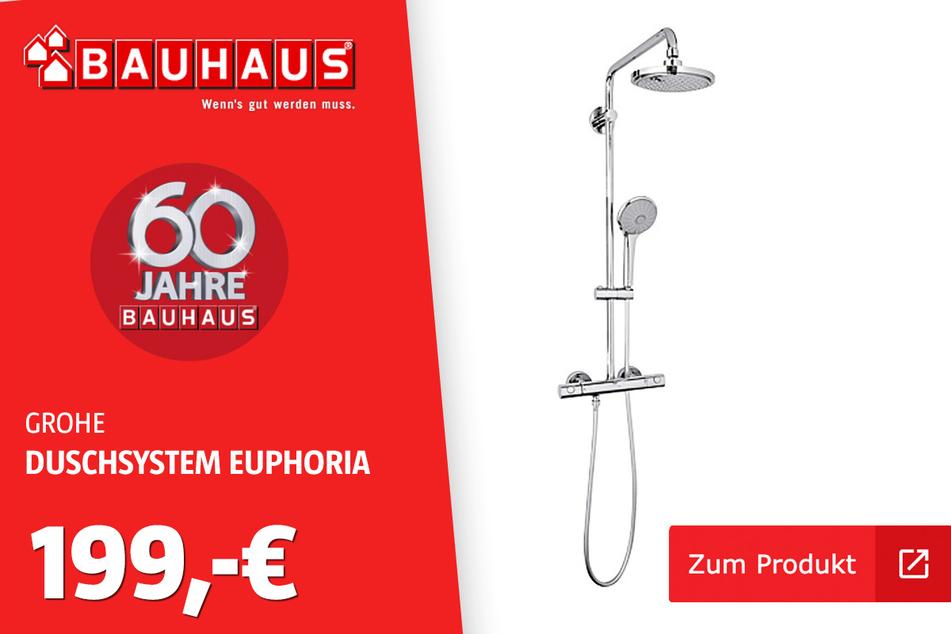 Grohe Duschsystem 'Euphoria' für 199 Euro.