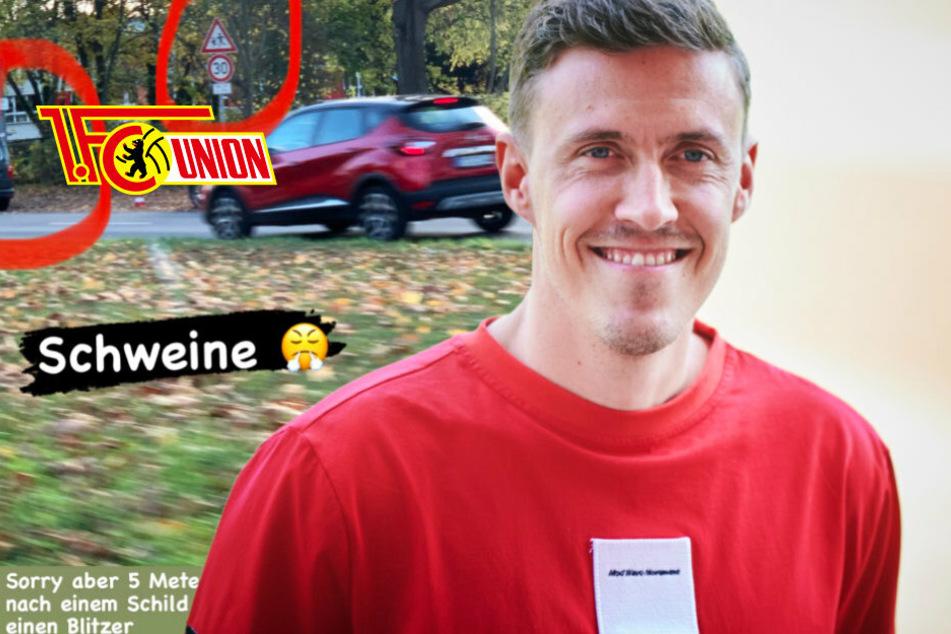 Berlin: Blitzer-Ärger bei Max Kruse: Skandal-Stürmer ledert gegen Polizei