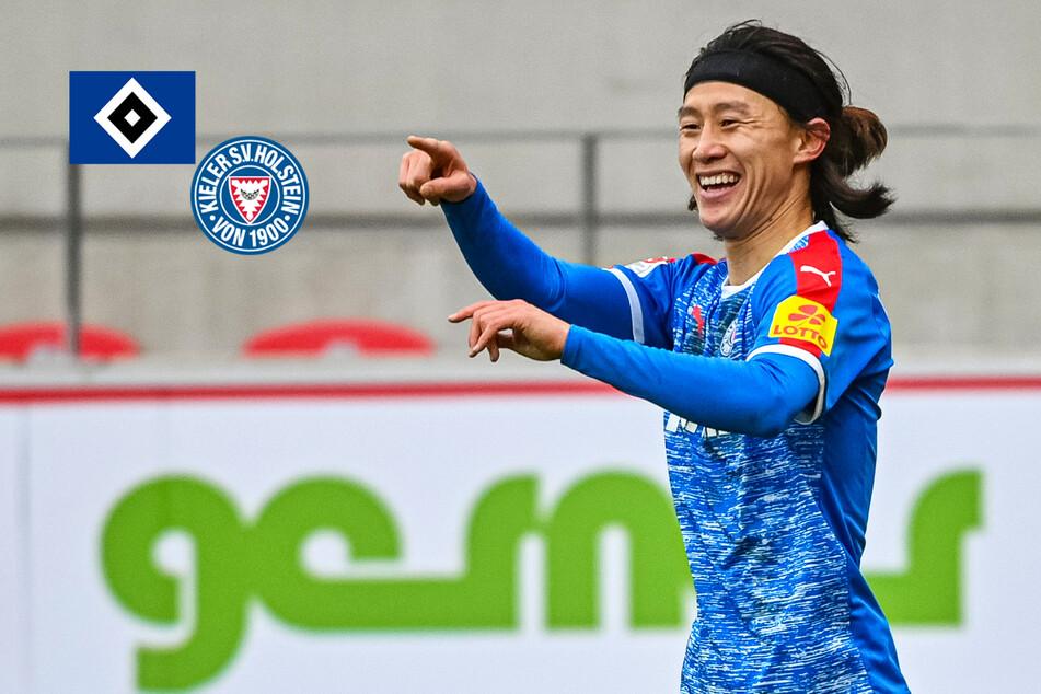 Vor direktem Duell: Wechselt Holstein Kiels Jae-Sung Lee im Sommer zum HSV?