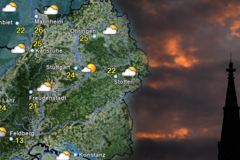 Es drohen Unwetter in Baden-Württemberg