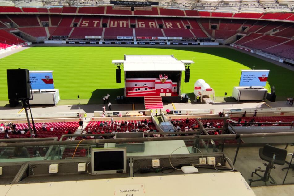 Der VfB Stuttgart veranstaltet am 18. Juli seine Mitgliederversammlung 2021 in der Mercedes-Benz Arena mit maximal 5000 zugelassenen Mitgliedern.