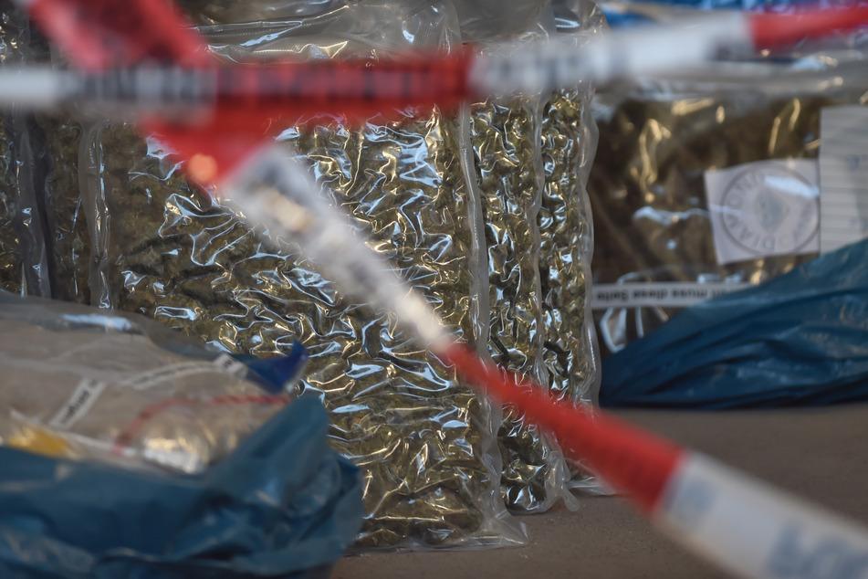 Bereits am Wochenende war den Beamten ein Schlag gegen den Drogenhandel in Sachsen-Anhalt gelungen. (Archivbild)