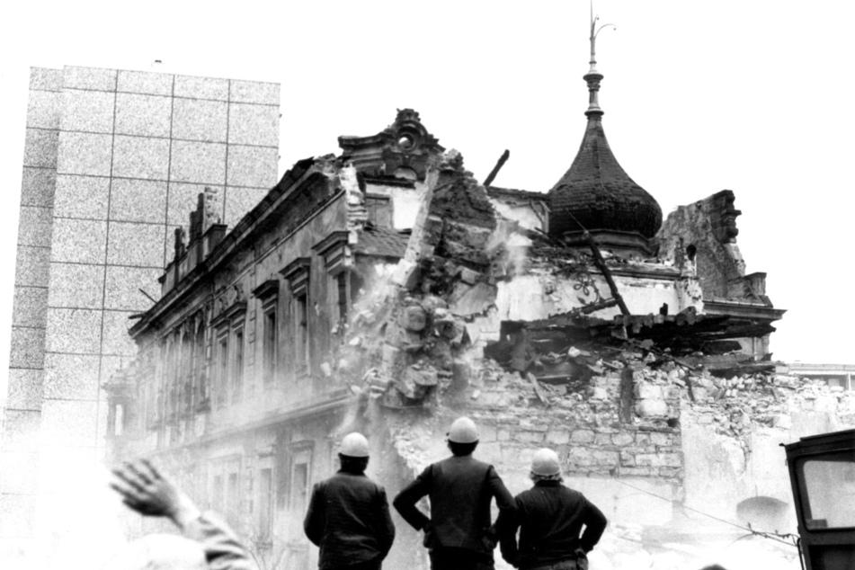 1985 wurde das Schloss abgerissen.