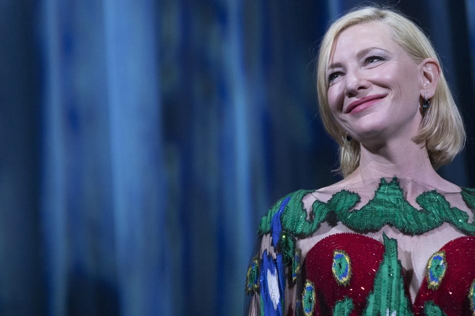 """Hollywood-Star Cate Blanchett (52) wird für das Kinodrama """"TÁR"""" die Dresdner Philharmonie dirigieren."""