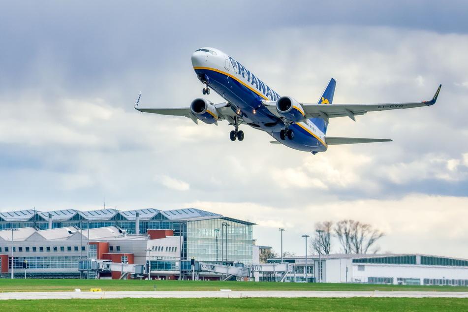 Die Billig-Airline Ryanair hebt von Dresden wieder in die englische Hauptstadt ab.