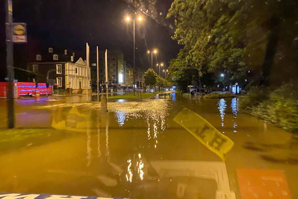 Die Menge des Regens in Wuppertal entsprach laut Angaben des Wupperverbandes einem Zehntel des durchschnittlichen Jahresniederschlages.