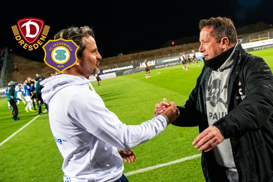 Dynamo gegen Aue und das ewige Duell zwischen Kauczinski und Schuster
