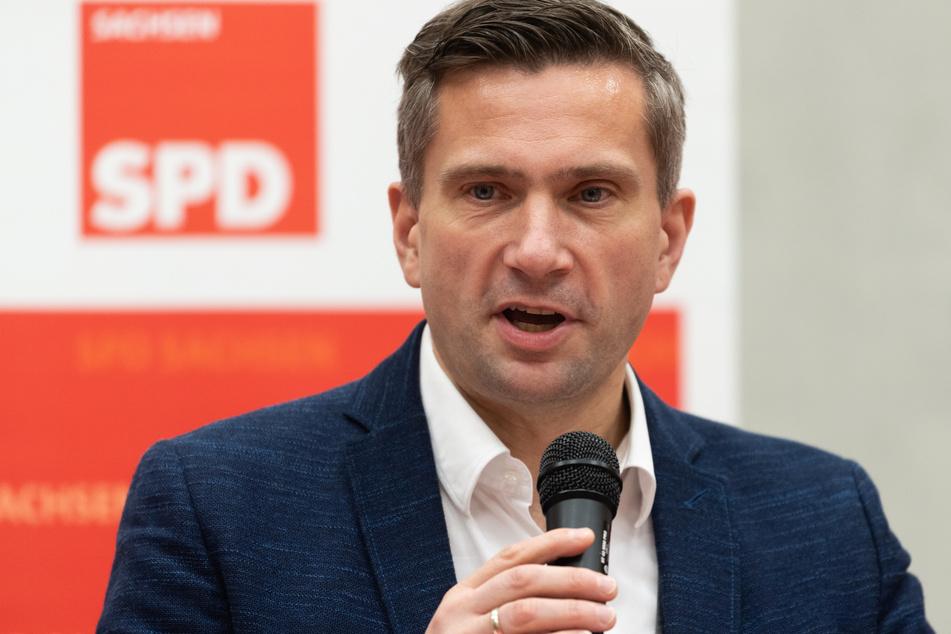 Sachsens Wirtschaftsminister Martin Dulig (46).