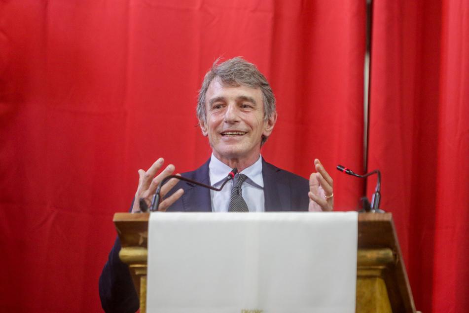 EU-Parlamentspräsident David Sassoli. (Archivbild)