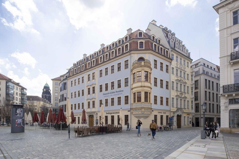 Auch in Sichtweite der Frauenkirche: die Schütz-Residenz.