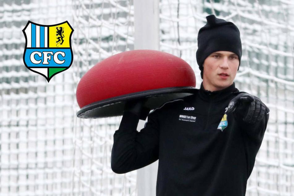 """CFC-Torwart-Talent Wunsch selbstbewusst: """"Will den Druck auf Jakubov erhöhen!"""""""