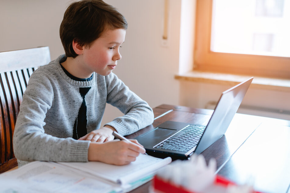 Remote learning is currently the order of the day in the UK (stock image).