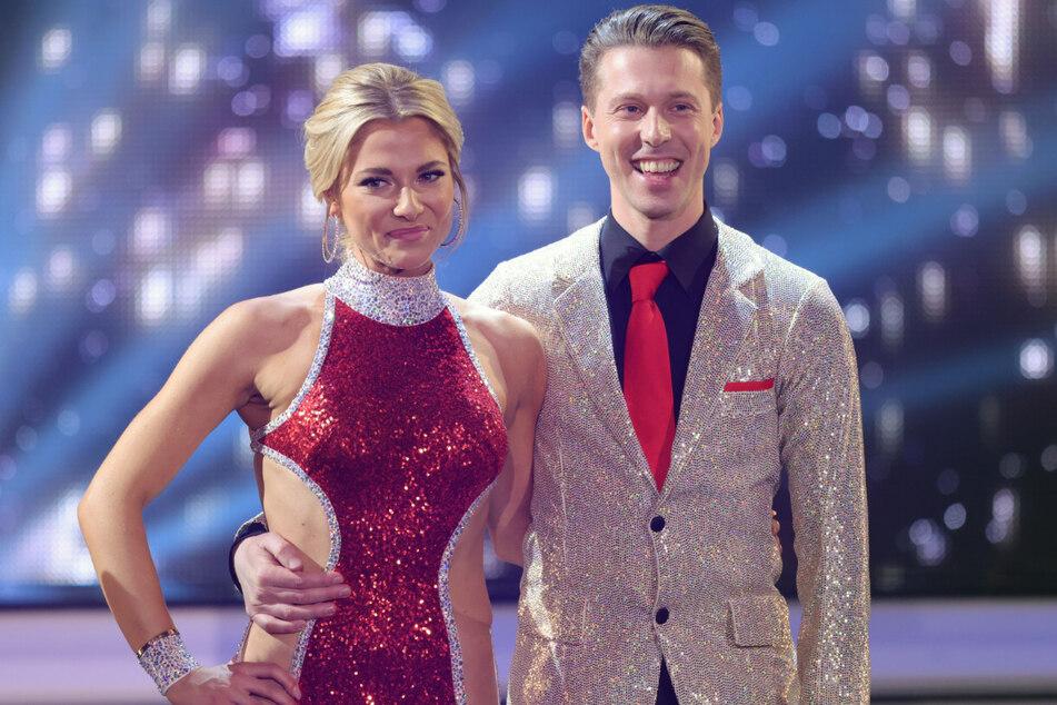 Valentina Pahde (27) und ihr Tanzpartner Valentin Lusin. Bei Let's Dance belegte die GZSZ-Schönheit den zweiten Platz.