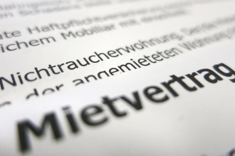 Ein Mietvertrag liegt auf einem Tisch. Finanzielle Vorteile haben insbesondere Mieter mit älteren Verträgen.