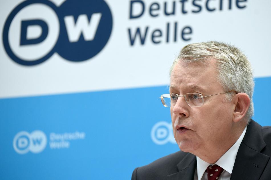 Der Intendant der Deutschen Welle, Peter Limbourg (60), forderte, dass Journalismus grundsätzlich diverser werden müsse. (Archivbild)