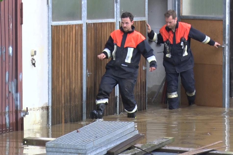Stärker als erwartet: Hochwasser bedroht Südbayern