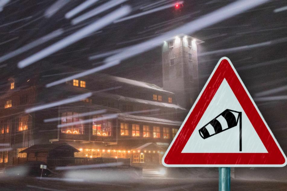 Deutscher Wetterdienst warnt: Schwere Orkanböen fegen übers Erzgebirge!