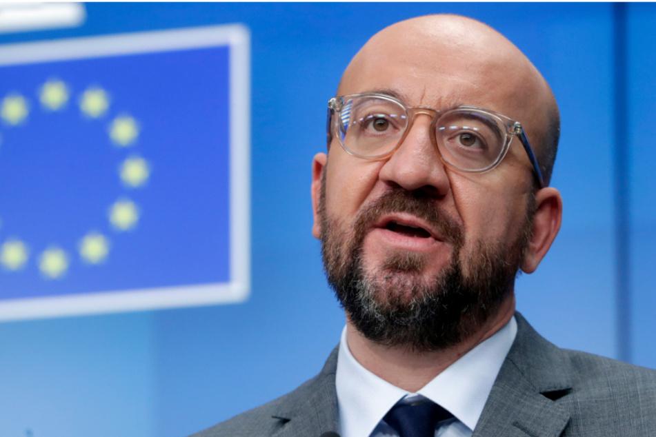 Ratspräsident Charles Michel (45).