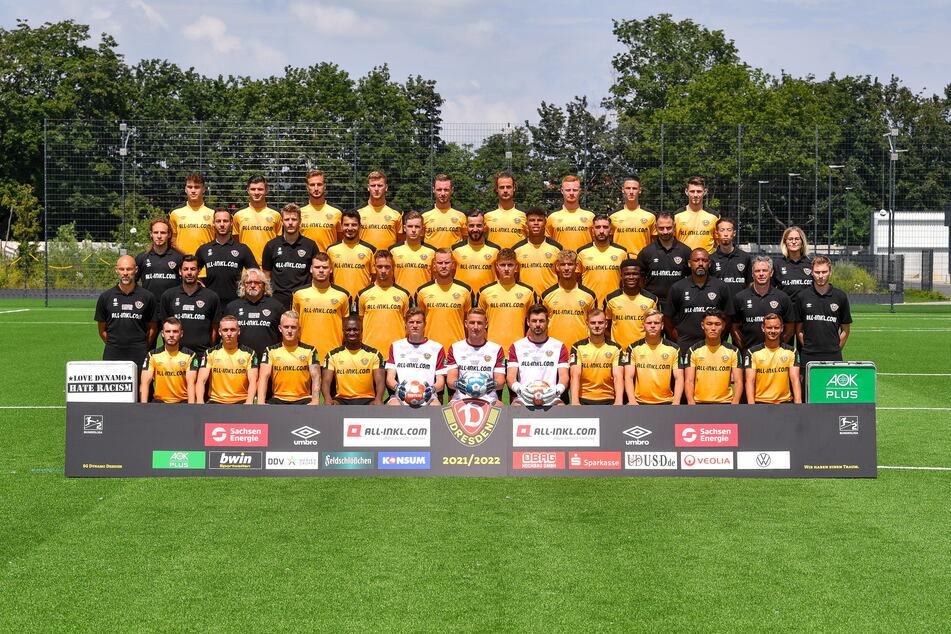 Da ist das Ding: So sieht das neue Mannschaftsfoto von Dynamo Dresden aus!