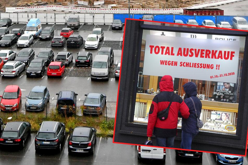 Gegen das Ladensterben in Dresdens Innenstadt: 1500 neue Parkplätze sollen die City retten
