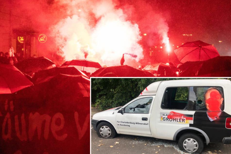 """Nach """"Liebig 34""""-Räumung: Angriff auf Auto von CDU-Politiker"""