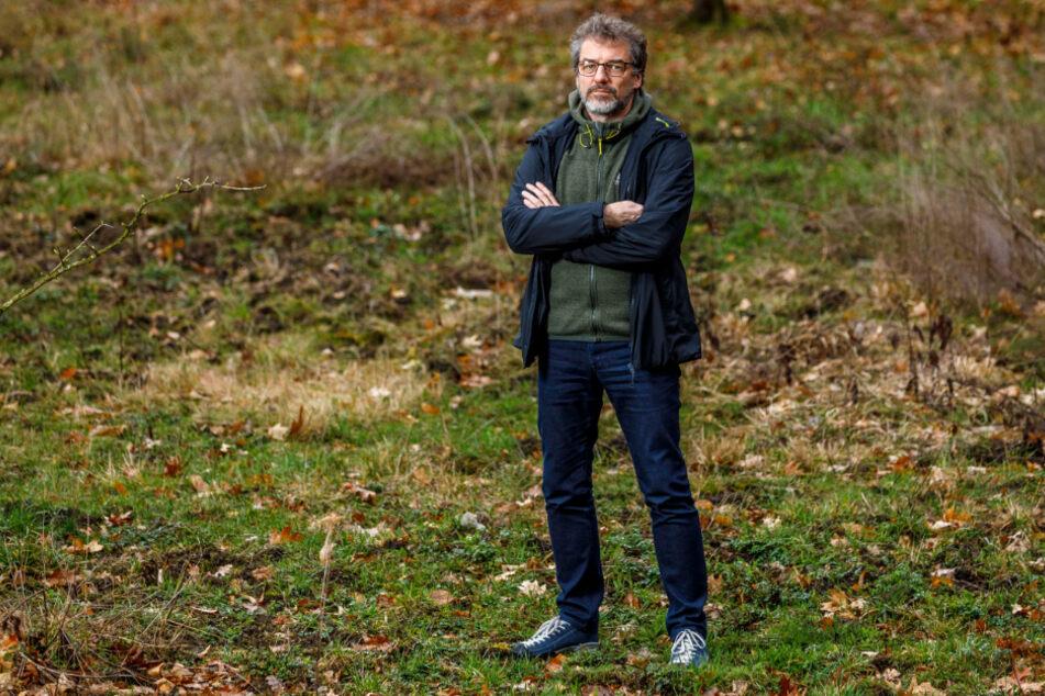 Erklärt das Verhalten der Wanzen: Insekten-Experte Matthias Nuß (54) vom Senckenberg Museum für Tierkunde in Dresden.