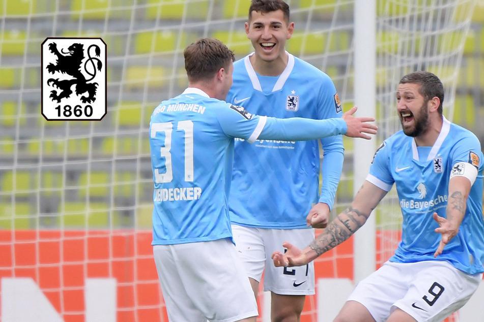 TSV 1860 sammelt weiter: Löwen holen sich Sieg im Lokalduell gegen Türkgücü