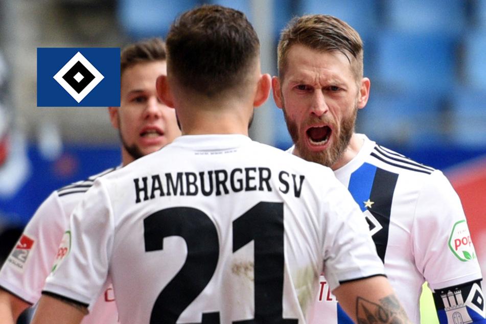 Hamburg: HSV quält sich zu Arbeitssieg gegen Jahn Regensburg