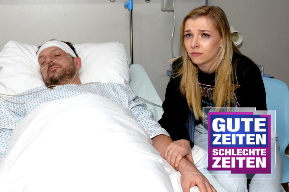 Horror-Sturz bei GZSZ: Robert fällt ins Koma!