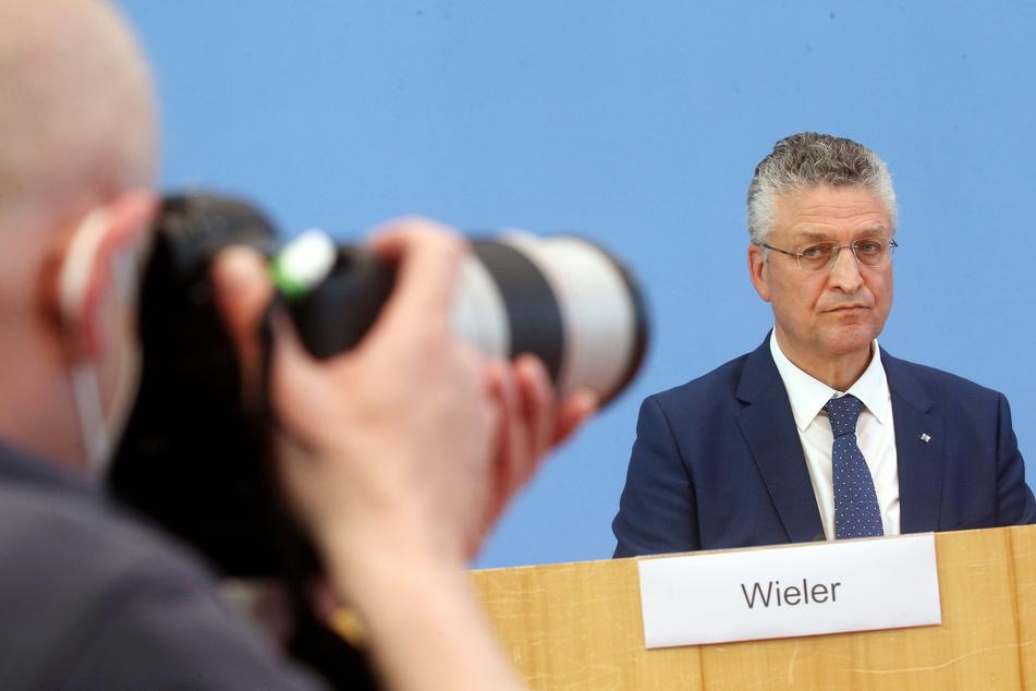 RKI-Chef Lothar Wieler sah sich Kritik ausgesetzt.