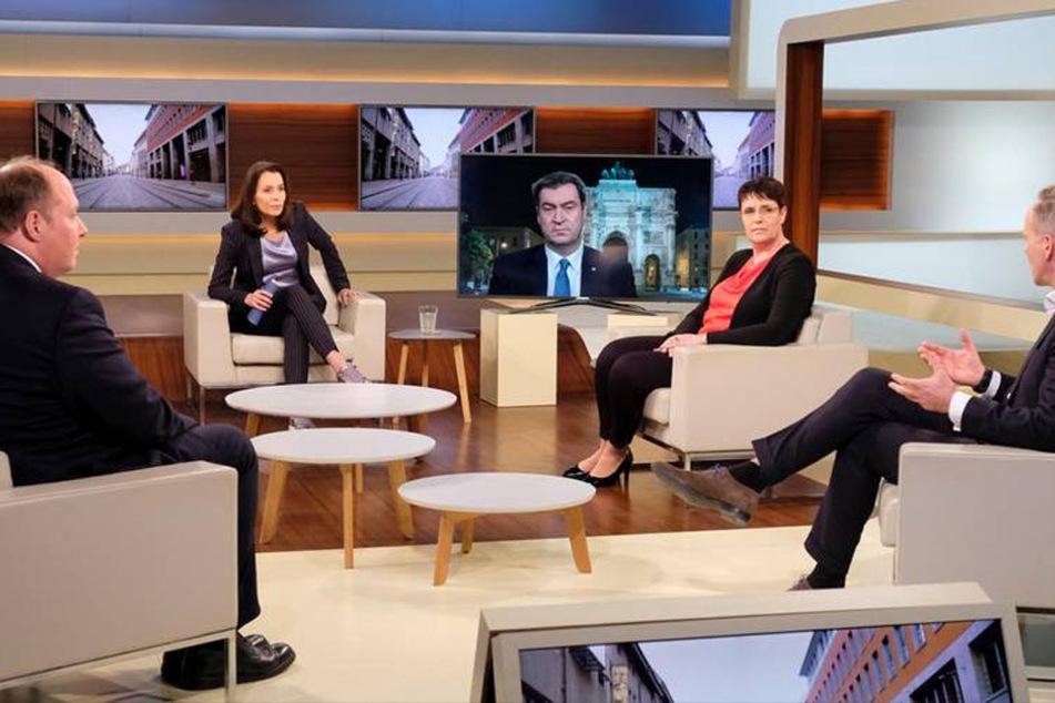 Bei Anne Will (54) diskutierten am Sonntagabend Kanzleramtsminister Helge Braun (CDU), Virologin Melanie Brinkmann, zugeschaltet wurde Bayerns Ministerpräsident Markus Söder (CSU), die Wolfsburger Chefärztin Bernadett Erdmann und Sebastian Fiedler, Vorsitzender des Bundes deutscher Kriminalbeamter.