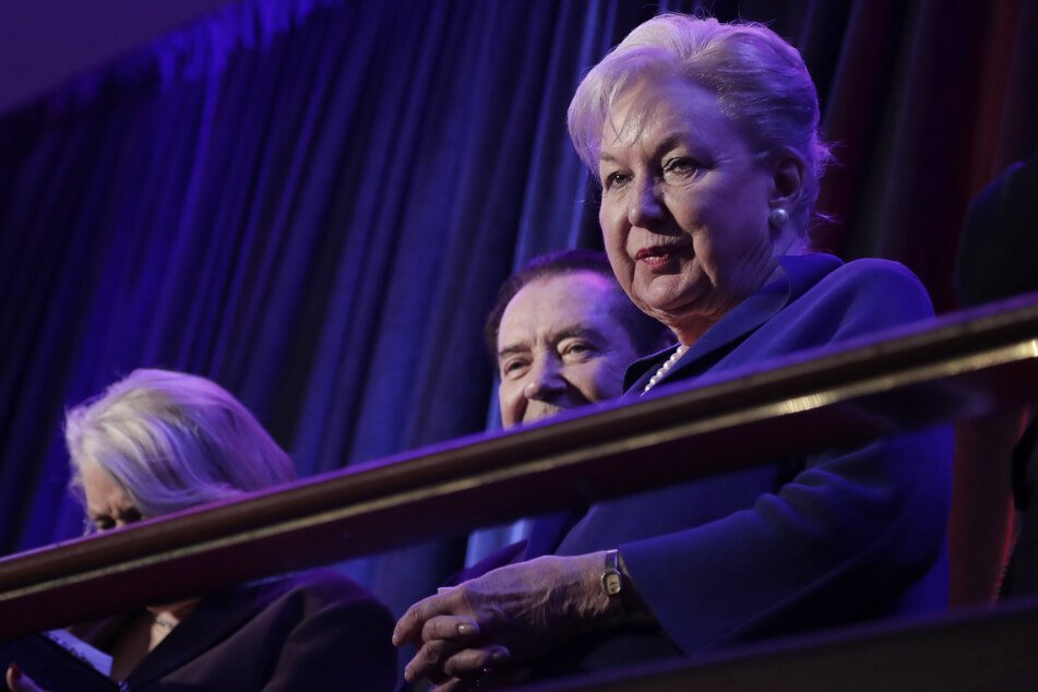 Maryanne Trump Barry, former federal judge and sister of the US president, on the 2016 election night (archive picture).