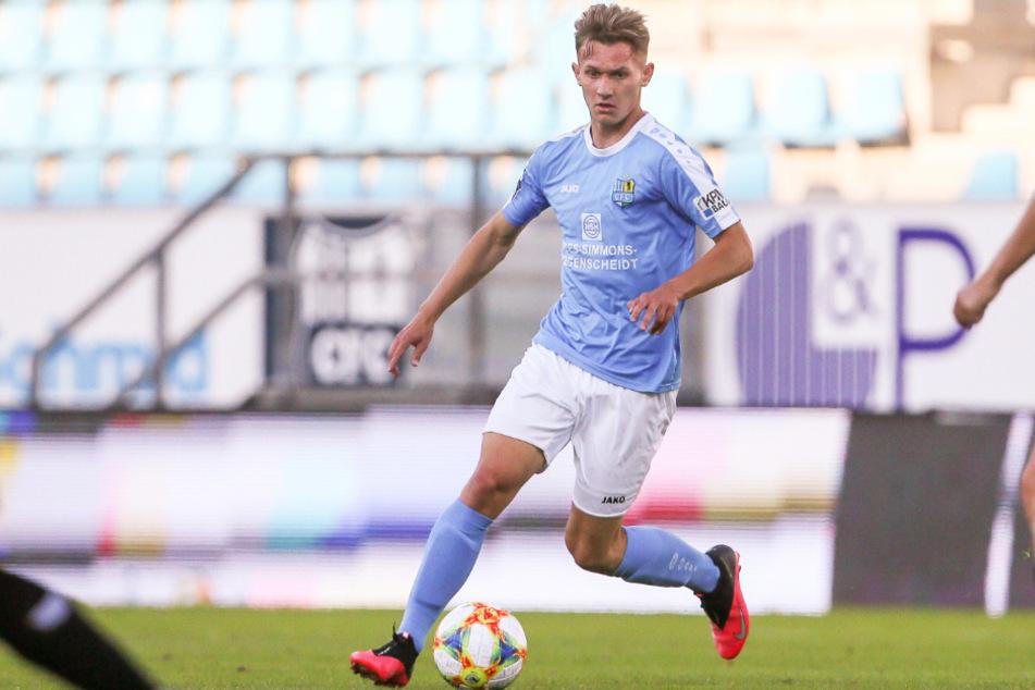 Erik Tallig (20) spielte bislang für den Chemnitzer FC.