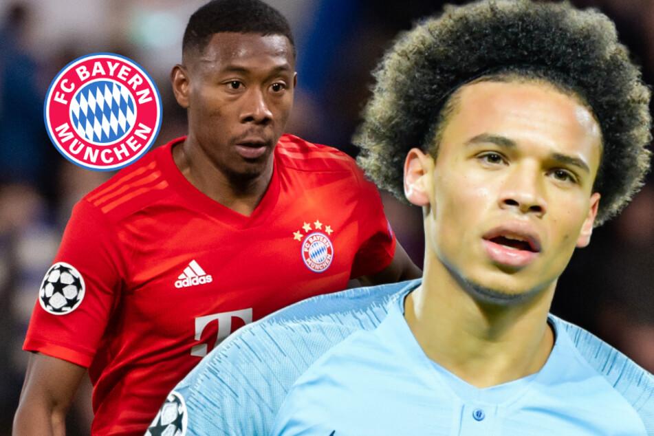 FC Bayern: Irres Tauschgeschäft? David Alaba und Leroy Sané wohl involviert