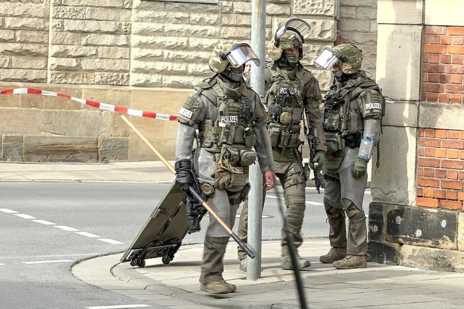 Die Polizei konnte am Montagnachmittag den Mann in seiner Wohnung festnehmen.