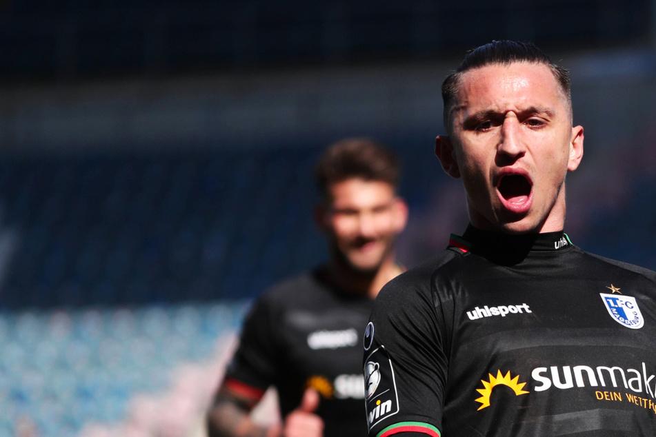 Nächstes Tor! Baris Atik hilft Dynamo erneut und bezwingt mit Magdeburg Hansa Rostock