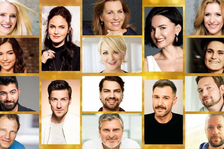 """16 Prominente ziehen sich in der neuen VOX-Show """"Showtime of my Life"""" für den guten Zweck aus."""