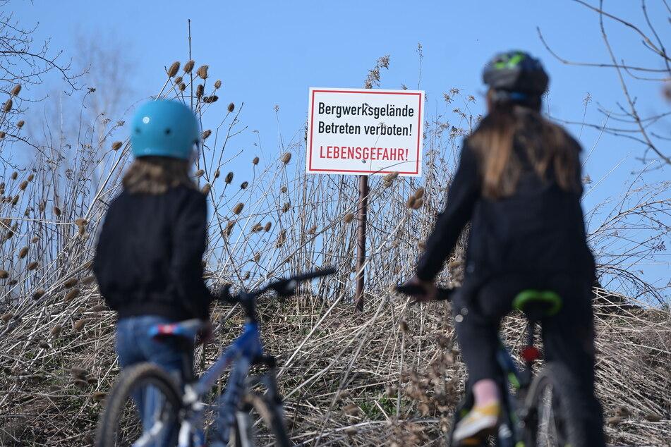 Die Lehmgrube ist als Sportgelände gesperrt. Nun hoffen die Radsportfans auf ein Revier in der Nähe.