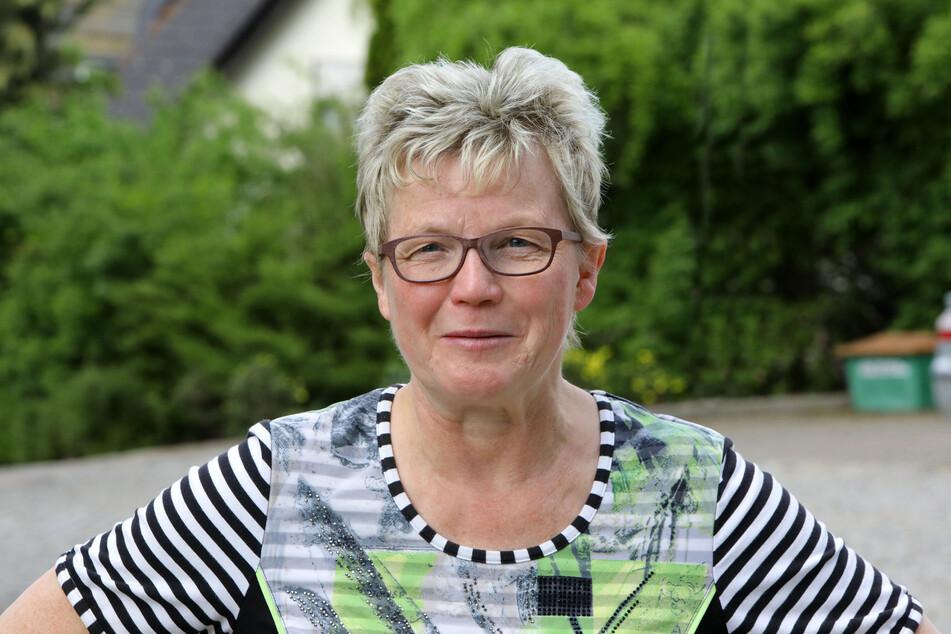 Die ehrenamtliche Bürgermeisterin von Bernsdorf Roswitha Müller (62, FDP) hofft, dass Corona bald durchgestanden ist.
