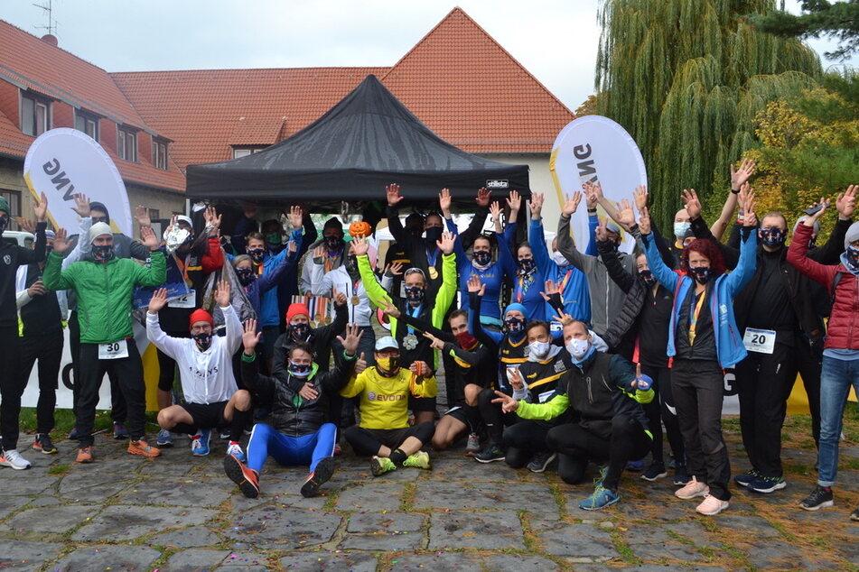 Alle 35 Läufer schafften es am gestrigen Samstag ins Ziel.