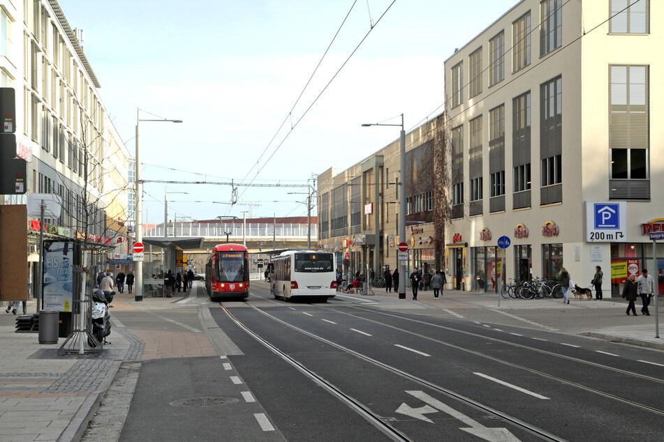 Die Kesselsdorfer Straße in Dresden (Archivbild).
