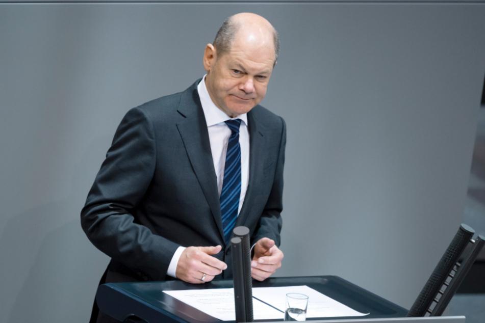 Finanzminister Olaf Scholz (SPD).