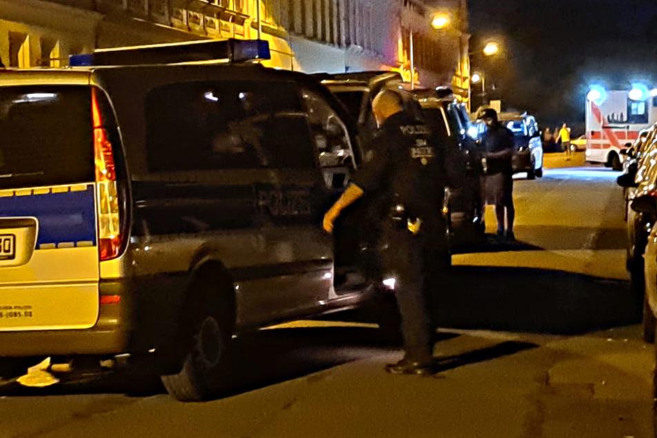 Die Einsatzkräfte wurden zu einer Schlägerei in Altlindenau gerufen.