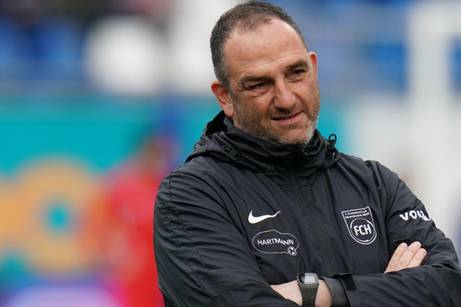 Trainer beim 1. FC Heidenheim: Frank Schmidt.