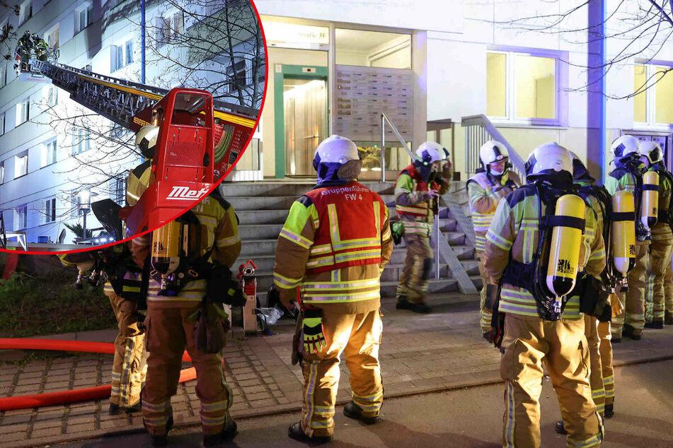 Dresden: Wieder auf der Budapester! Feuer in Dresdner Hochhaus ausgebrochen - fünf Verletzte!